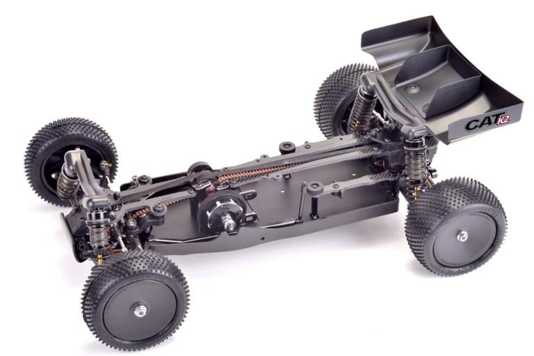 Schumacher CatK2 - 4wd elektromos buggy modellautó kit