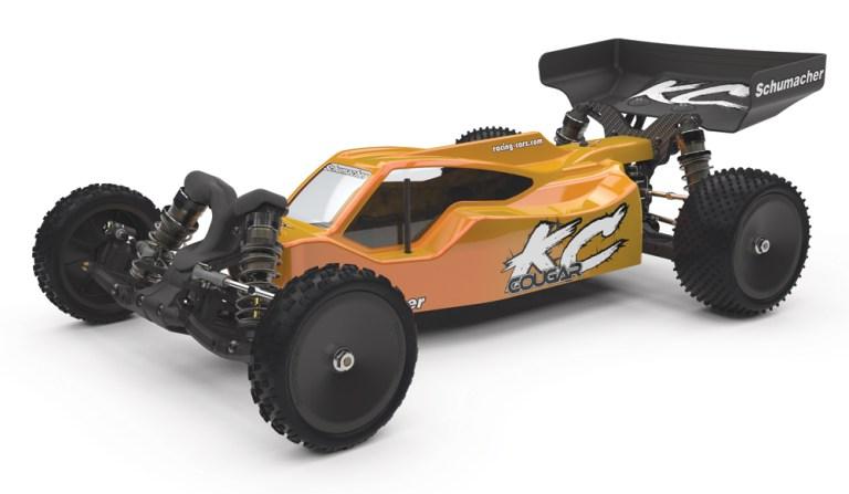 Schumacher Cougar KC170 1/10 elektromos buggy modellautó kit - komoly versenytechnika!