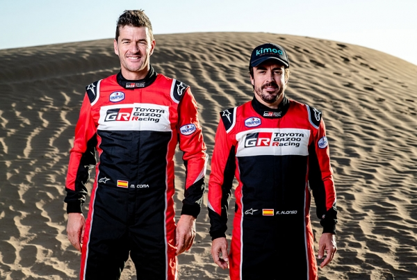 Fernando Alonso indul a 2020-as Dakar-ralin