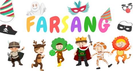 A Farsang- gyerekeknek