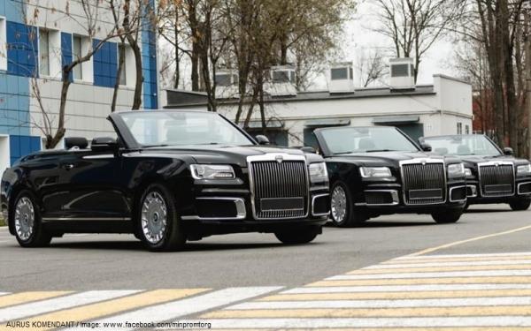 Az oroszok nyilvánosságra hozták az Aurus Komendant SUV új fotóit