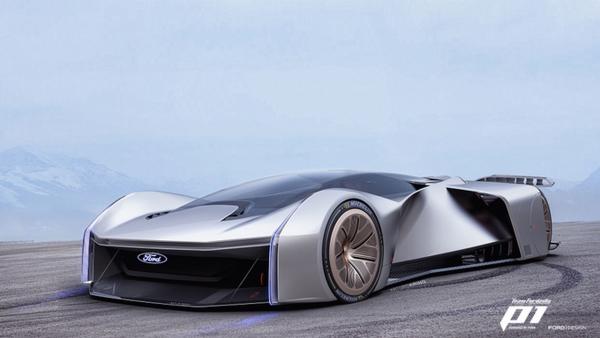 Virtuális hiperautó a Fordtól