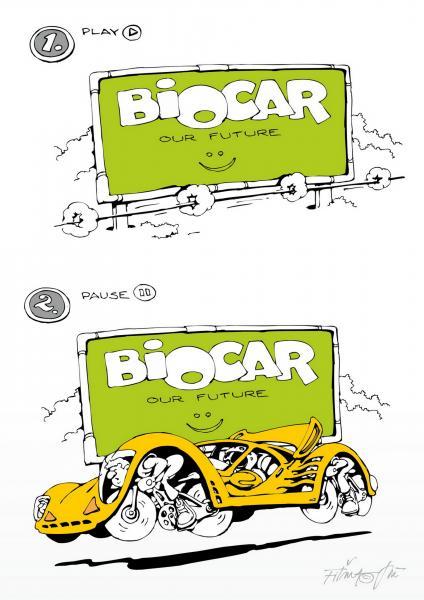 A nap karikatúrája: Biocar
