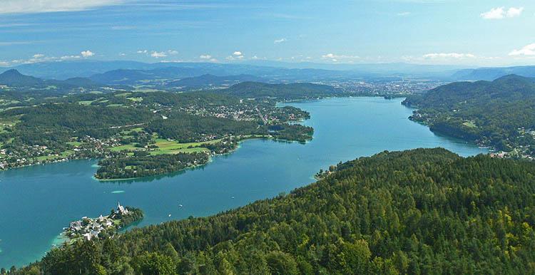 Ausztria riviérája, a Wörthi-tó - programok, látnivalók és érdekességek
