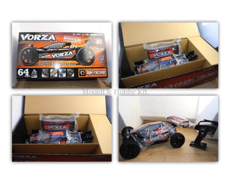 HPI Vorza Flux 1/8-as elektromos, RTR Buggy modellautó